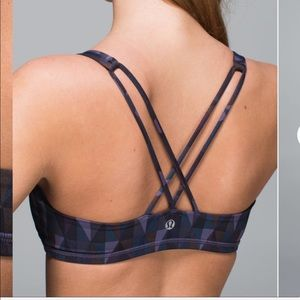 Lululemon | Free To Be Geometric Print Sports Bra